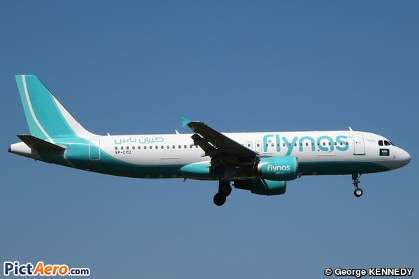 Airbus A320-214 (Flynas)