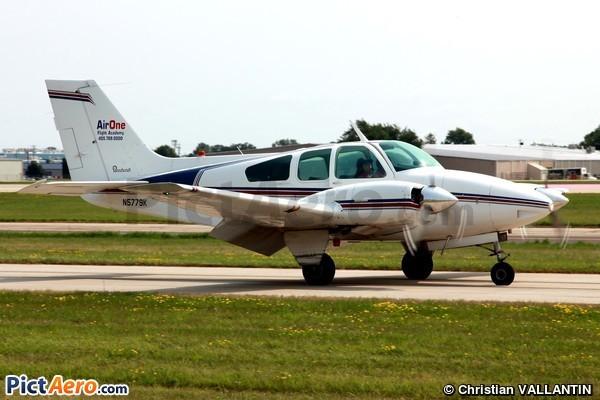 Beech 95-B55 Baron (Harris Aircraft Leasing Corp)