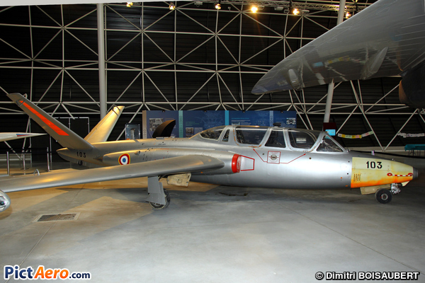 Fouga CM-170R Magister (Ailes Anciennes Toulouse)
