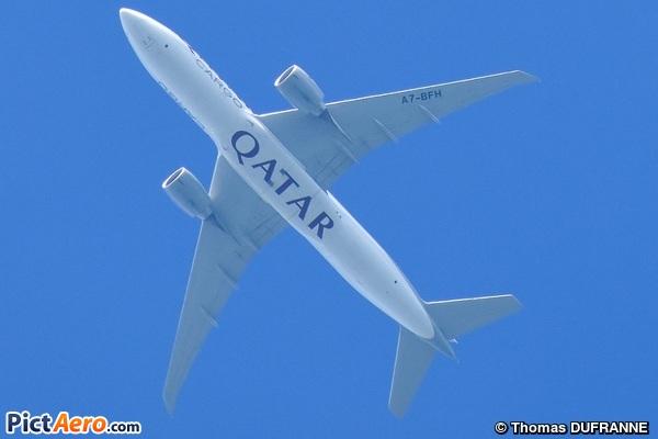 Boeing 777-FDZ (Qatar Airways Cargo)
