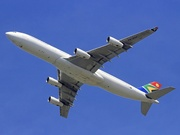 Airbus A340-313 (ZS-SXF)