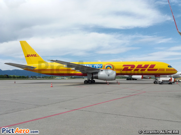 Boeing 757-236/PCF (DHL Air)