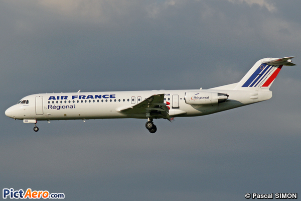 Fokker 100 (F-28-0100) (Régional Airlines)