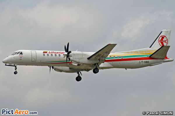 Saab 2000 (flyLAL - Lithuanian Airlines)