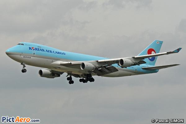 Boeing 747-4B5F/ER/SCD (Korean Air Cargo)
