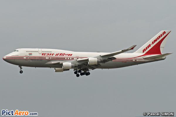 Boeing 747-412 (Air India)