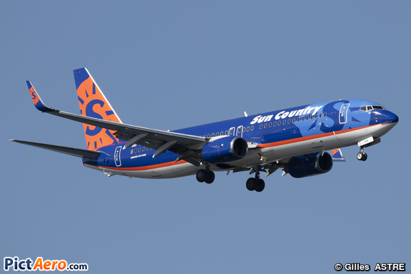 Boeing 737-86N/WL (Sun Country Airlines)