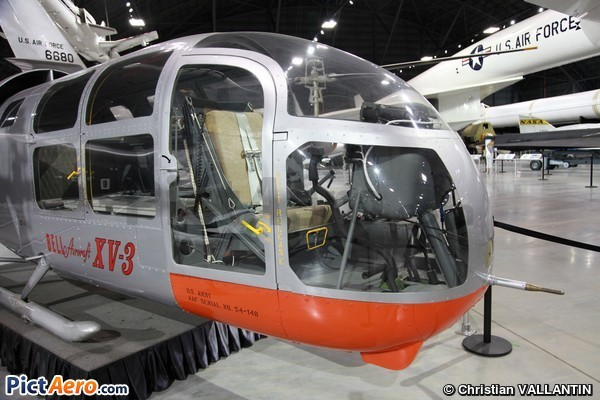 Bell Helicopter Textron XV-3 (National Museum United States Air Force)