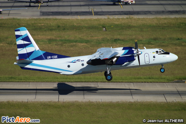 Antonov An-26B (Vulkan Air)