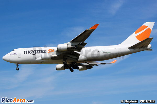 Boeing 747-409/BDSF (MAGMA AVIATION LIMITED)