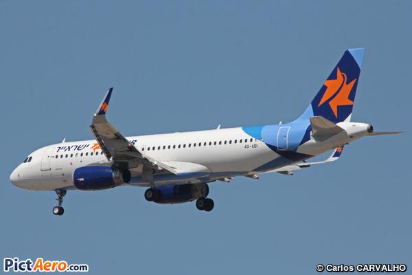Airbus A320-232/WL (Israir)
