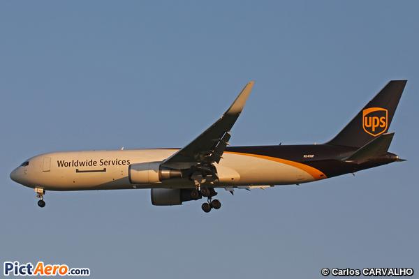 Boeing 767-34AF/ER (United Parcel Service (UPS))