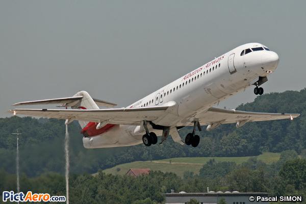 Fokker 100 (F-28-0100) (Albatros Airways)
