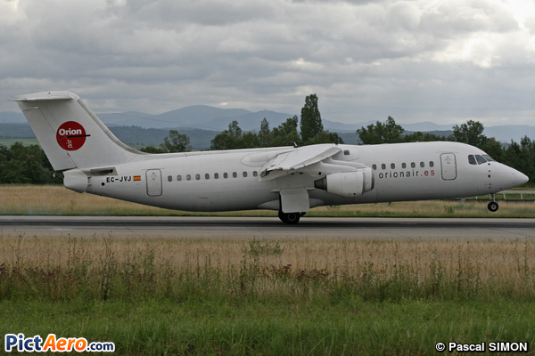 British Aerospace BAe 146-300 (Orion Air)