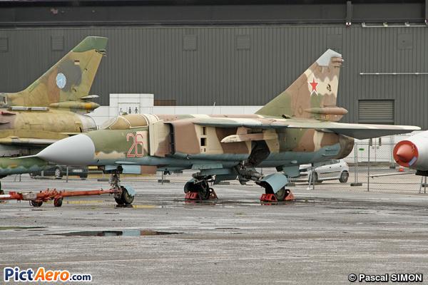 Mikoyan-Gurevich MiG-23 ML Flogger (Musée de l'Air et de l'Espace du Bourget)