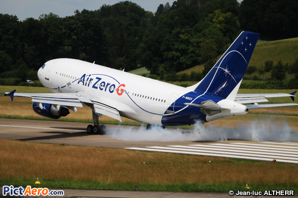 Airbus A310-304 (Novespace/CNES)