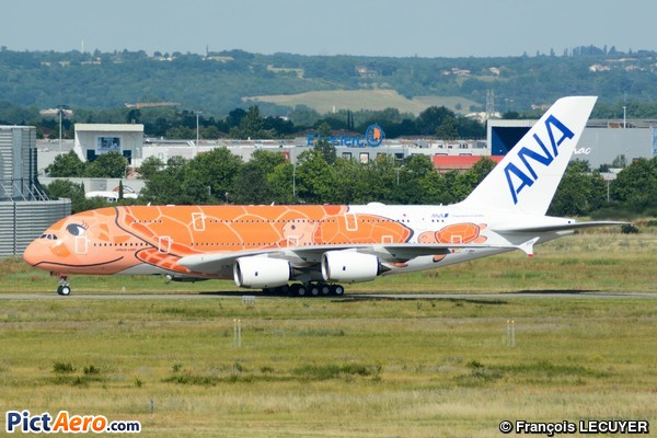 Airbus A380-841 (ANA All Nippon Airways)