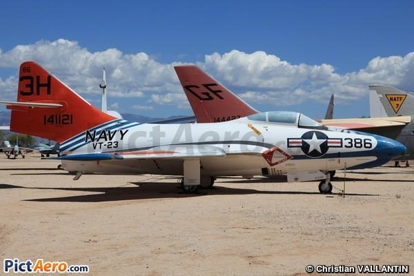 Grumman TAF-9J Cougar (Pima Air and Space Museum)
