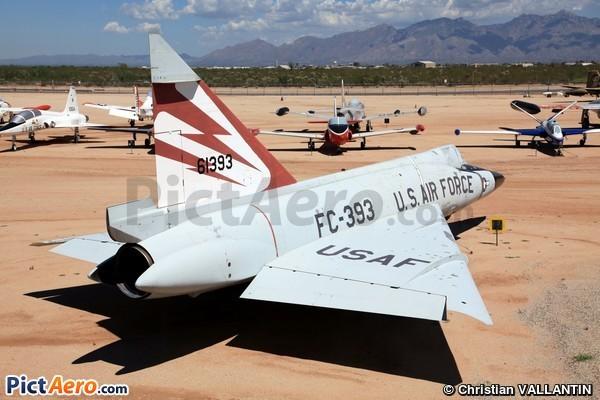 Convair F-102A Delta Dagger (Pima Air & Space Museum)