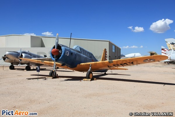 Vultee BT-13 Valiant  (Pima Air & Space Museum)