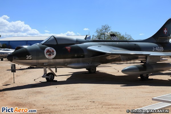 Hawker Hunter F58 (Pima Air & Space Museum)