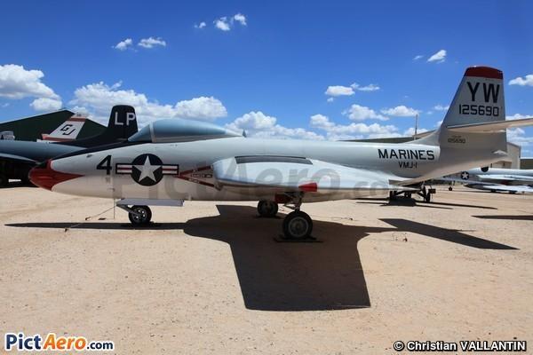McDonnell F2H-2P Banshee (Pima Air & Space Museum)