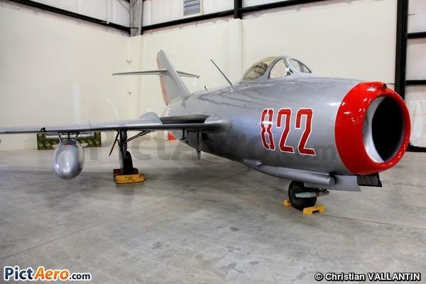 Mikoyan-Gurevich MIG-15bis (Pima Air & Space Museum)