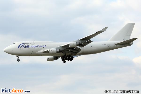 Boeing 747-412/BCF (Air Bridge Cargo Airlines)