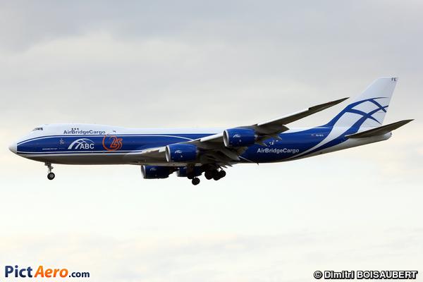 Boeing 747-83QF (Air Bridge Cargo Airlines)