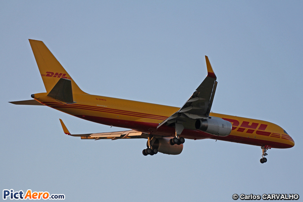 Boeing 757-223(PCF) (DHL Air)