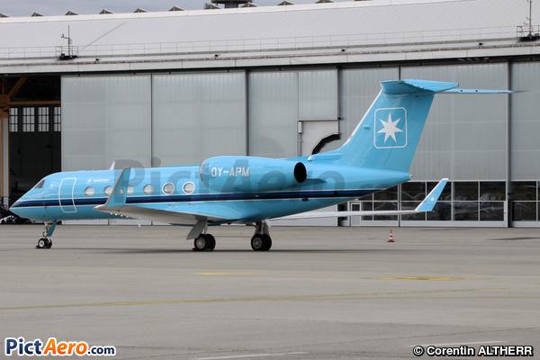 Gulfstream G450 (Maersk Air)