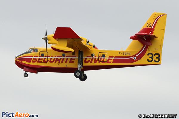 Canadair CL-415 (France - Sécurité Civile)
