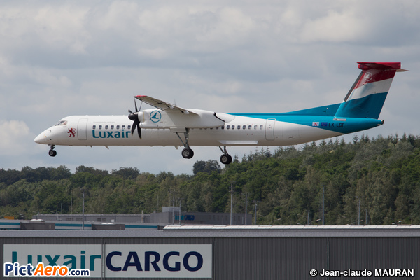 De Havilland Canada DHC-8-402Q Dash 8 (Luxair - Luxembourg Airlines)