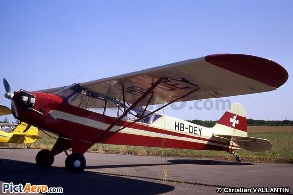 Piper J-3C-65 Cub (Air-Club d'Yverdon-les-Bains)