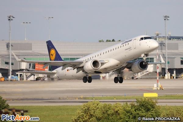 Embraer ERJ-190LR (ERJ-190-100LR) (Lufthansa CityLine)