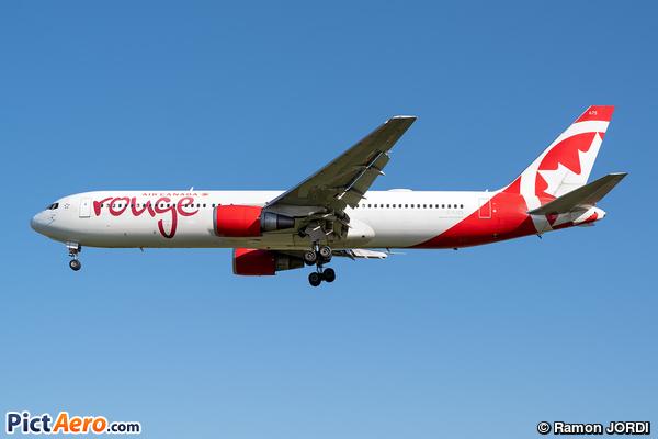 Boeing 767-3Q8/ER (Air Canada Rouge)