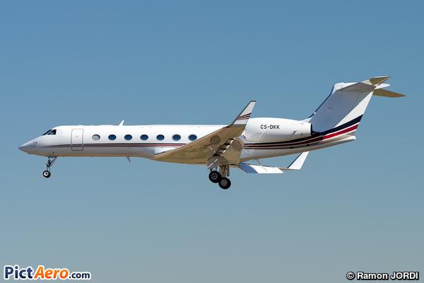 Gulfstream Aerospace G-550 (G-V-SP) (NetJets Europe)