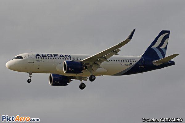 Airbus A320-271N  (Aegean Airlines)