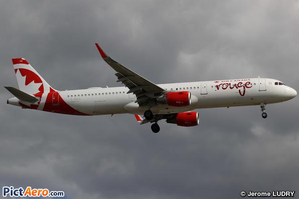 Airbus A321-211/WL (Air Canada Rouge)