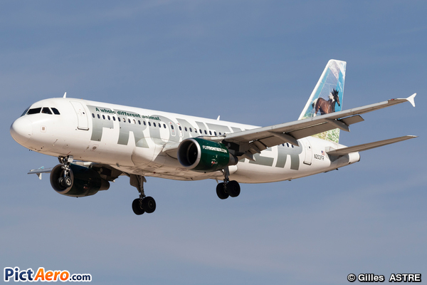 Airbus A320-214 (Frontier Airlines)