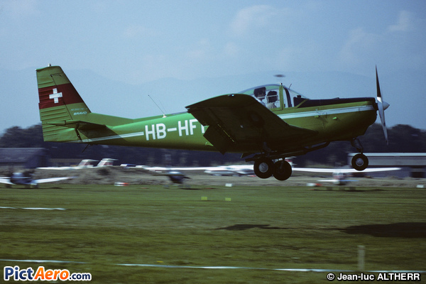 FFA AS-202/15 Bravo (Aéroclub de Genève)