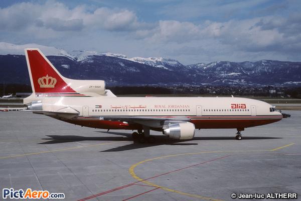 Lockheed L-1011-500 Tristar (Royal Jordanian)