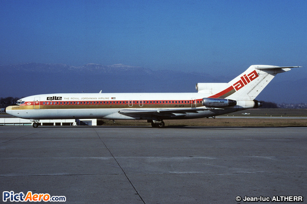 Boeing 727-2D3 (Alia Royal Jordanian Airlines)