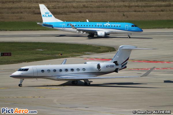 Gulfstream G650ER (Qatar Executive)