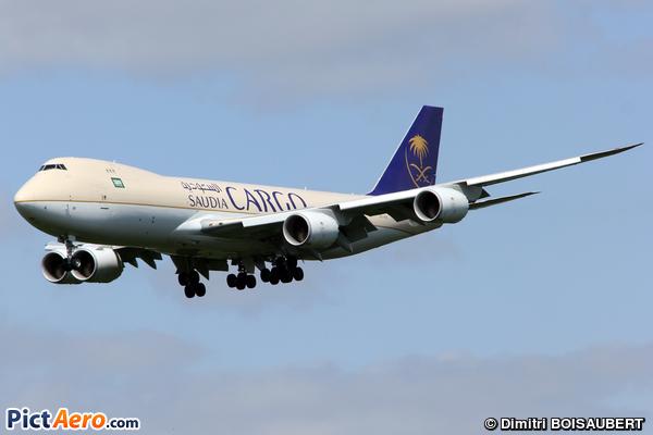Boeing 747-87UF (Saudia)