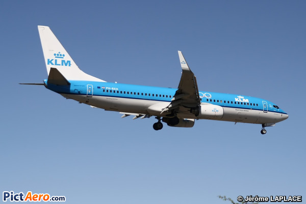 Boeing 737-8K2 (KLM Royal Dutch Airlines)