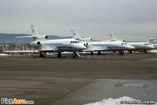 Dassault Falcon 900EX (Gazpromavia)
