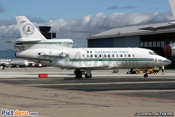 Dassault Falcon 900 (Nigeria - Air Force)
