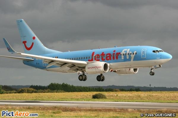 Boeing 737-7K5/WL (Jetairfly)
