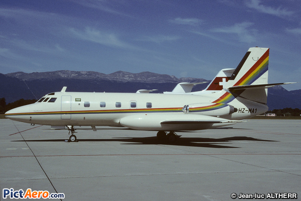 Lockheed L-1329 JetStar 6 (Ashmawi Aviation)